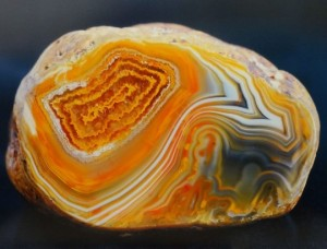 striped color of agate