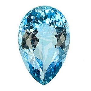 aquamarine birthstone for Pisсes women