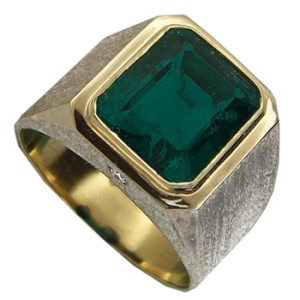 emerald ring mens