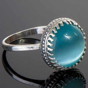 cat's eye gem in ring