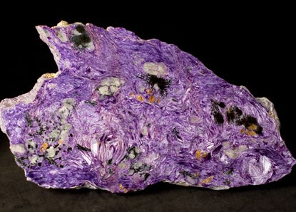 Charoite: origin and properties