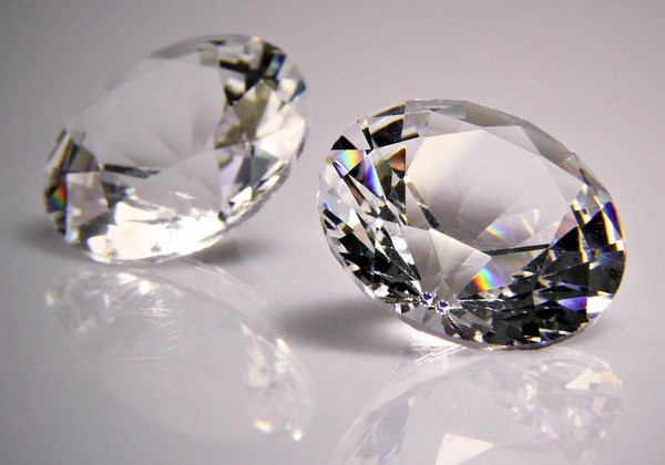 diamond healing properties