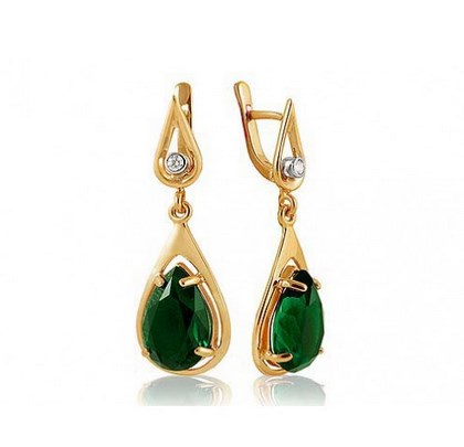 green garnet earings
