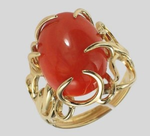 coral birthstone for scorpio women