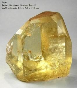 yellow topaz stone