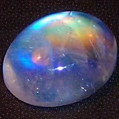 Moonstone birthstone for Pisces