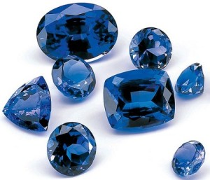 Sapphires for Aquarius birthstone, talisman