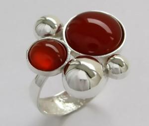 Carnelian red
