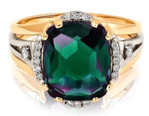 alexandrite in ring